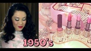 1950's Vintage Makeup Tutorial (NYX Face Awards) vegas_nay