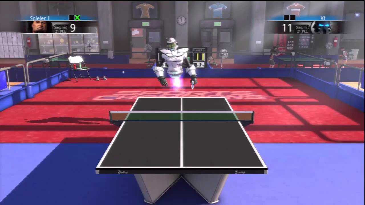 PS3 Sports Champions how to beat Ace 8000 in Tabletennis Champion Cup level / Championspokal HD