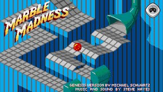 This is a longplay of the Marble Madness game on the Sega Mega Driv...