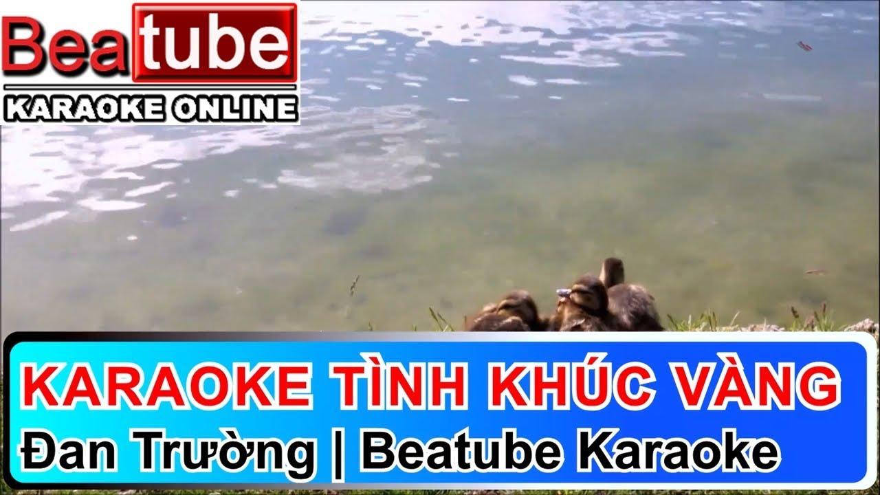 Karaoke Tình Khúc Vàng – Đan Trường | Beatube Karaoke