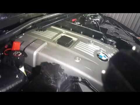 BMW engine cleaning power wash