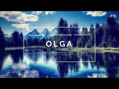 OLGA - Significado del Nombre Olga ♥