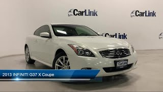 2013 INFINITI G37 X Coupe Morr…