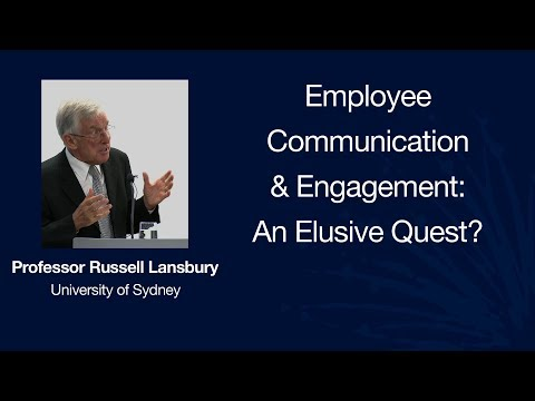 Employee Communication & Engagement: An Elusive Quest?