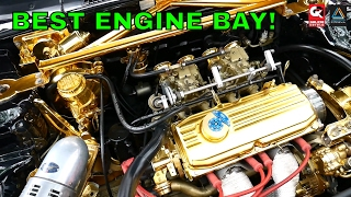 GOLD Engine Bay Proton Saga Fiore Lancer - Retro Havoc 2017