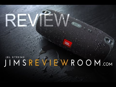 JBL Xtreme Bluetooth Speaker - REVIEW