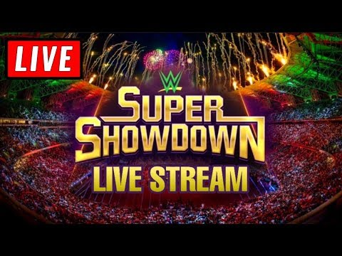 Wwe Super Showdown Live Stream