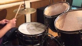 【ドラムはじめたい!】16フィール ベースドラム