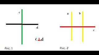 4 урок: Перпендикулярные прямые