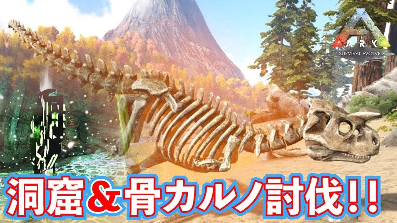 狩人 の 洞窟 Ark