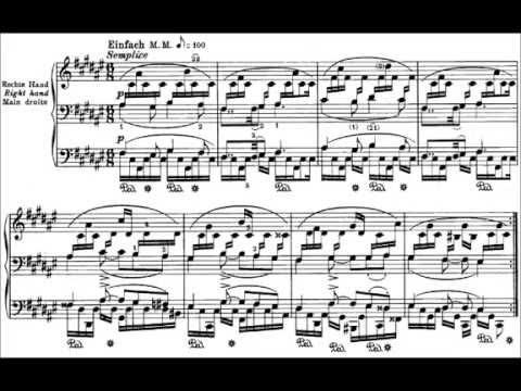 SCHUMANN Romanze Op. 28 / 2 (Konstantin Semilakovs)
