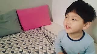 5살 쭈니의 방망이않주면 옷더럽힌다!이쁘면다냐 콰이