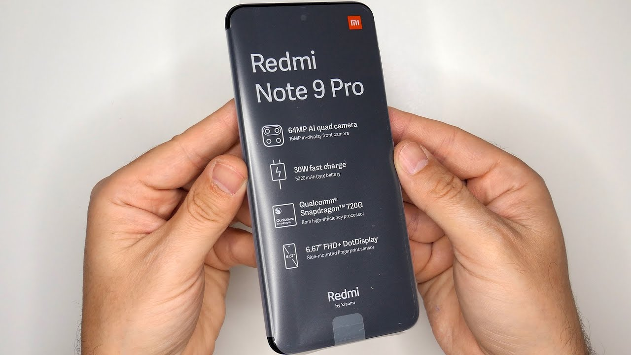 Xiaomi Redmi Note 9 Pro Global Version 6gb 128gb Interstellar Grey Nfc 5020mah Unboxing First Boot Youtube