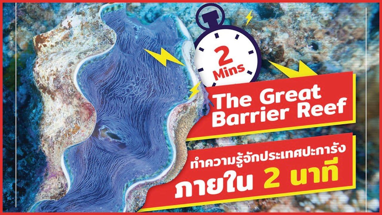 2 Minutes The Great Barrier Reef : ทำความรู้จักประเทศปะการังภายใน 2