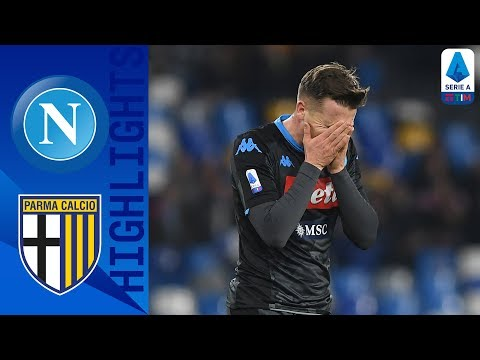 Napoli 1-2 Parma | A Late Gervinho Goal Sees Gattuso Lose First Napoli Match! | Serie A TIM