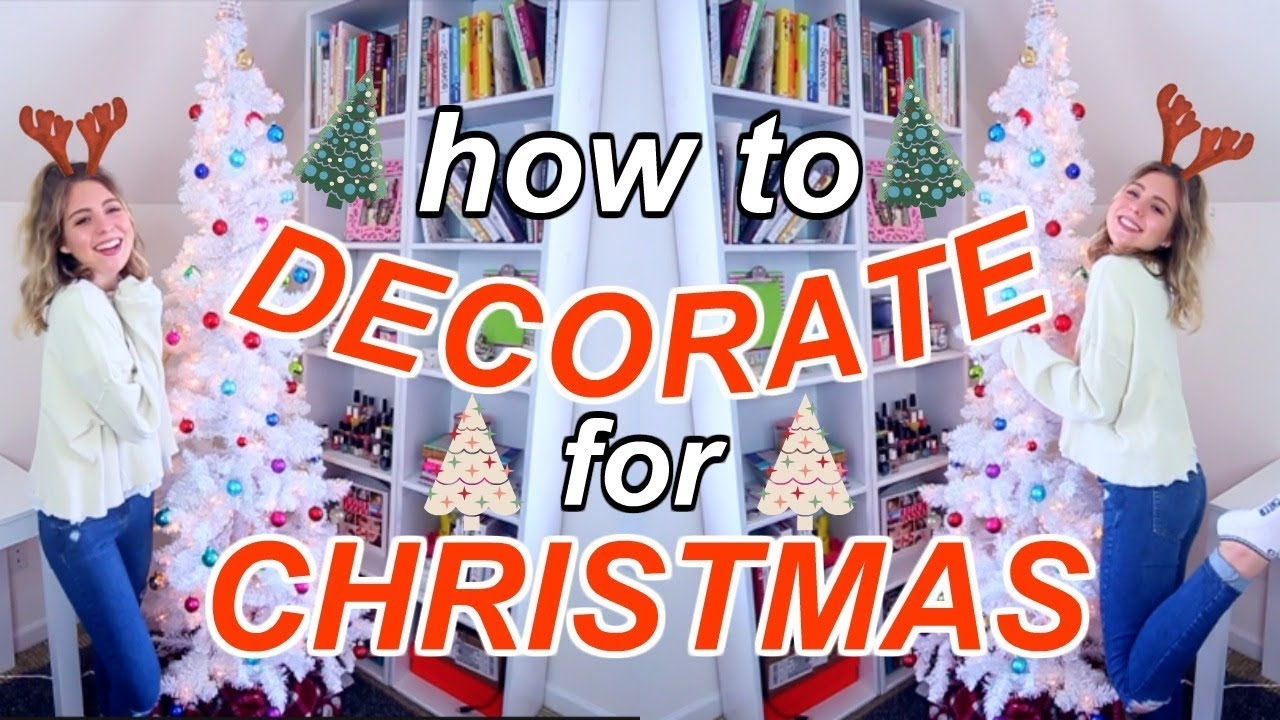 How to Decorate Your Room for Christmas (Cheap + Easy)