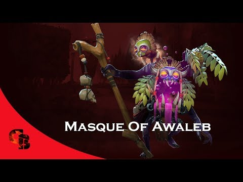 Dota 2: Store - Witch Doctor - Masque Of Awaleb [Immortal]
