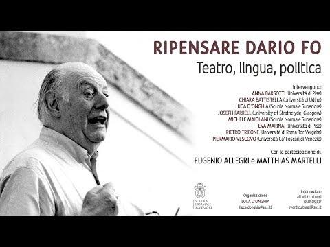 RIPENSARE DARIO FO - 30 ottobre 2017
