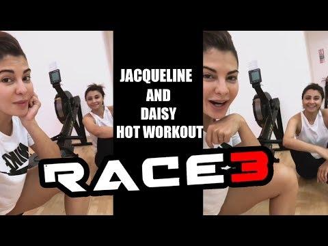 Jacqueline & Daisy Shah's SEDUCTIVE WORKOUT For Salman's RACE 3 thumbnail