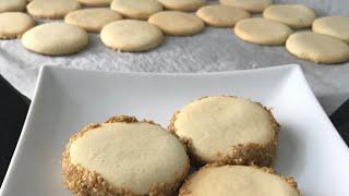 Tahinli susamlı nefis kurabiye