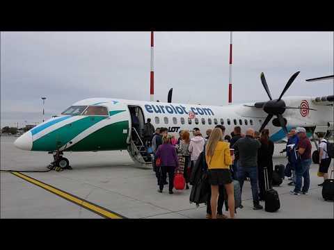 Full flight - cały lot - Warszawa - Rzeszów - PLL LOT - SP-EQE - Bombardier Dash 8 Q400 - 16.09.2016