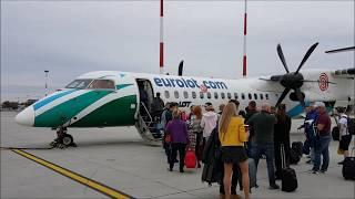 PLL LOT - full flight - cały lot samolotem - Warszawa - Rzeszów - SP-EQE - Bombardier Dash 8 Q400