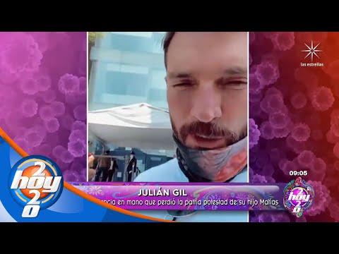 Julián Gil asegura que le robaron la patria potestad de su hijo Matías | Hoy