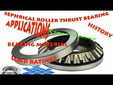 SPHERICAL ROLLER THRUST BEARINGS (TECHNICAL SECRETS)