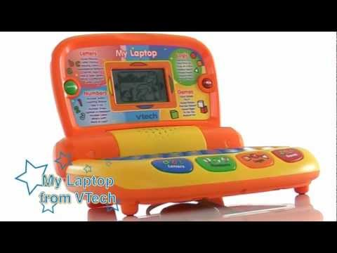 vtech my first laptop youtube. Black Bedroom Furniture Sets. Home Design Ideas