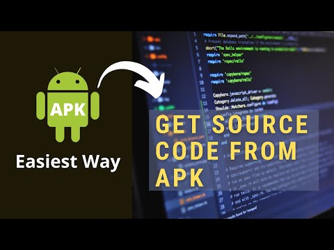 Get Source Code From Apk File |Decompile Android Application