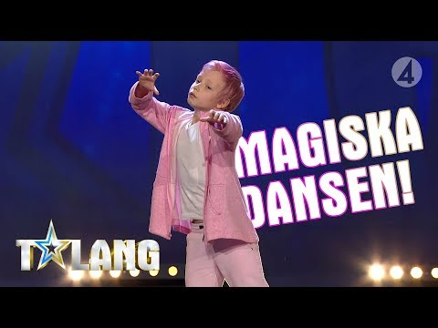 Tolvåriga David rör Pär Lernström till tårar med sin dans