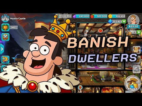 Hustle Castle - How To Banish & Delete People
