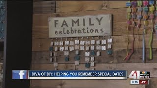 Diva of DIY: helping you remember special dates