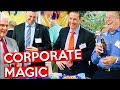 Corporate Magician Amazes - CORPORATE MAGIC 1