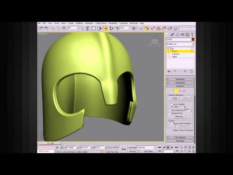 3ds Max Modeling Tips - Using The Shell Modifier