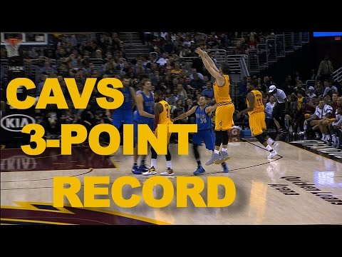 Cavaliers Record Setting 41 3-Pointers Through 2 Games