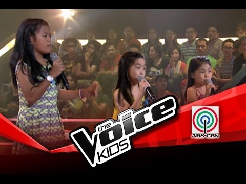 The Voice Kids Philippines Battle Firework  Mariane, Karla, and Darlene