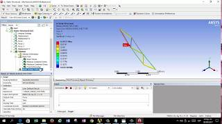 Elementos finitos - Ansys workbench: Práctica 7