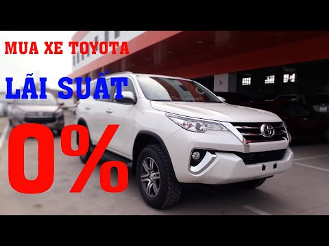 Mua Xe Toyota Trả Góp Với LÃI SUẤT 0% - Nghe Là Thấy Mê Rồi   THÁI LỚN TOYOTA