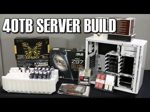 TTL's 40TB Server Introduction Red40 RedForty Adaptec 81605ZQ Raid Card