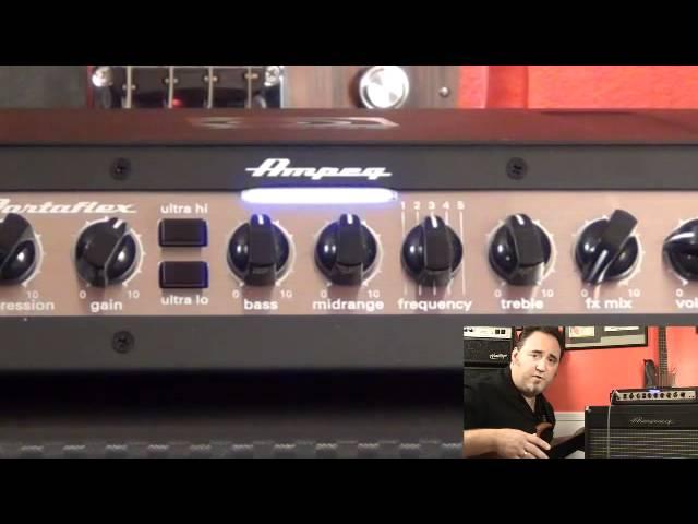 Ampeg PF-500 Bass Head - Tone Settings - Fretless