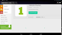 How to install 1Mobile Market