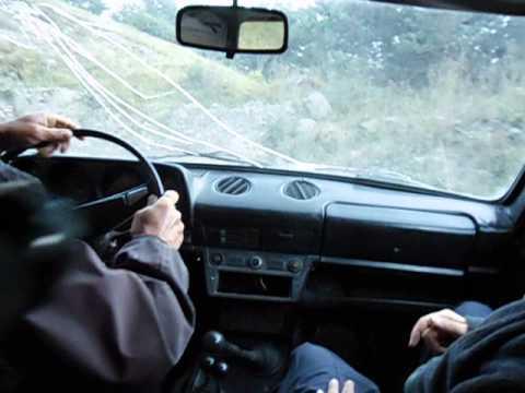 Crazy Georgian taxi