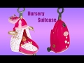 Smoby Baby Nurse Baby Dolls 3-in-1 Nursery Suitcase Unboxing Play with Baby Annabell doll