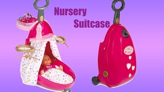 Baby Dolls 3-in-1 Nursery Suitcase | Little girl and Baby Annabell Playtime