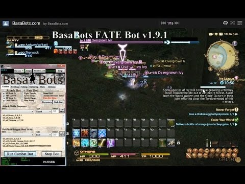 FFXIV Bot - Fate Bot v1 9 1 - BasaBots com
