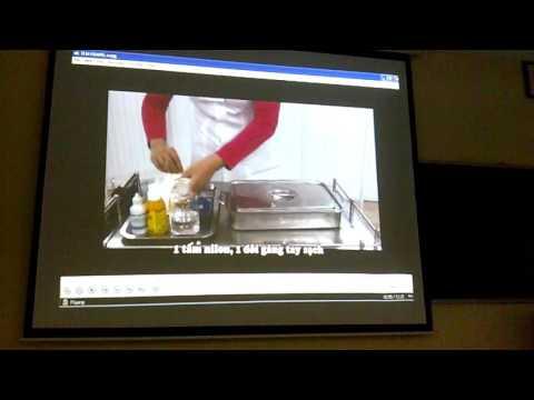 Hướng dẫn kỹ thuật rửa vết thương vô khuẩn