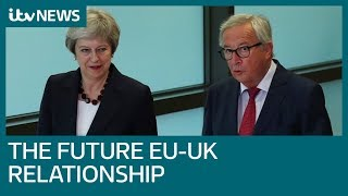 May and Juncker to discuss future EU-UK relationship | ITV News