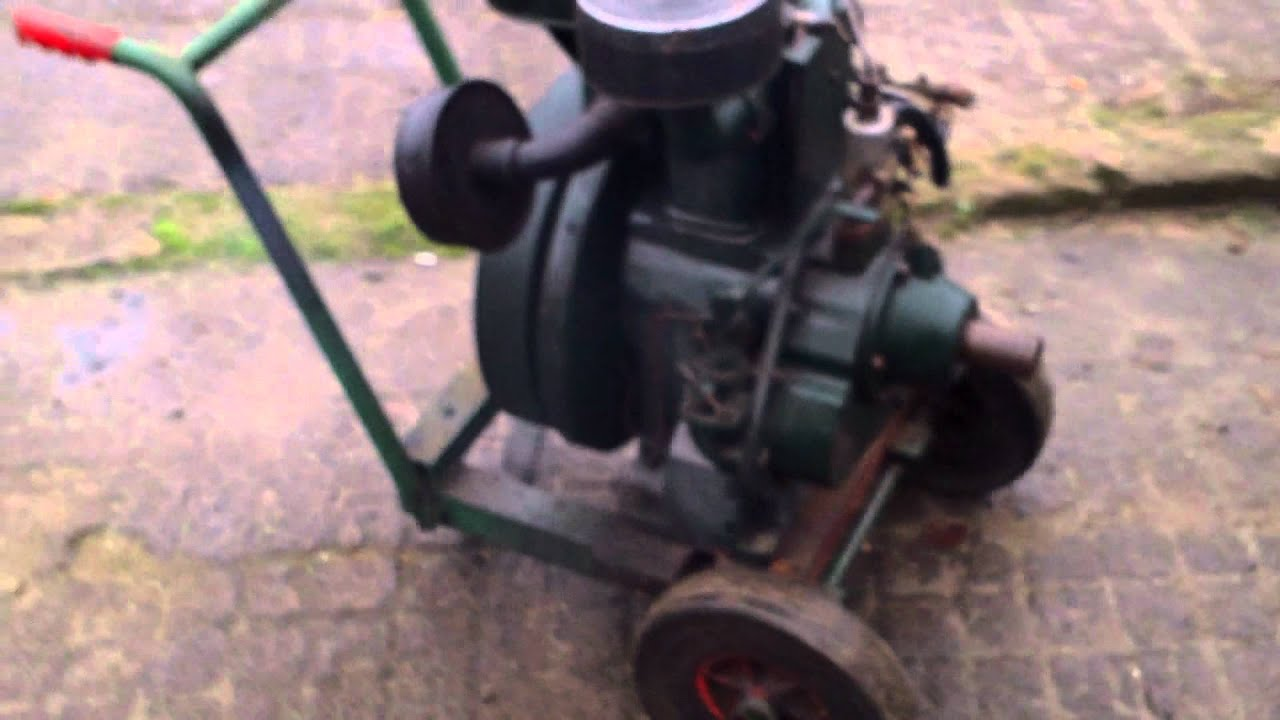 petter paz1 single cylinder air cooled diesel engine youtube rh youtube com