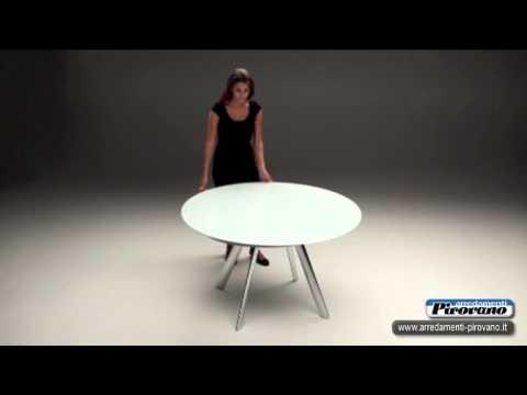 tavolo giro bontempi casa arredamenti pirovano youtube